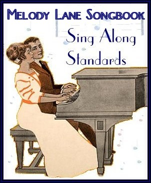 Melody Lane Music Sing Along Songbook Graphic